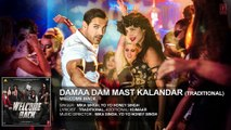 ♫ Dama Dam Mast Kalandar - ||  Full AUDIO Song || - Singer Mika Singh, Yo Yo Honey Singh - Film Welcome Back - Full HD - Entertainment CIty