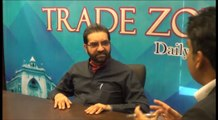 A.K Memon hosting forum Mian Muhammad Adrees - President FPCCI discussing at Trade Zone Forum.