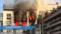 Paris 17e : une femme meurt dans l'incendie de son immeuble