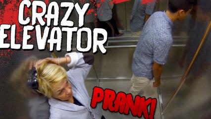 CRAZY ELEVATOR PRANK