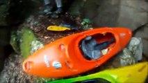 Kayak sur le Guiers Mort