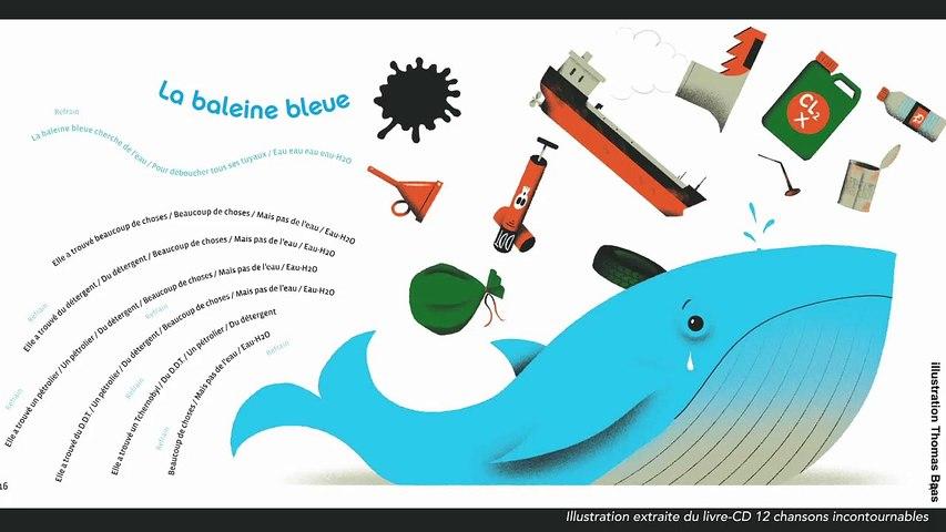 Steve Waring - La baleine bleue - chanson pour enfants