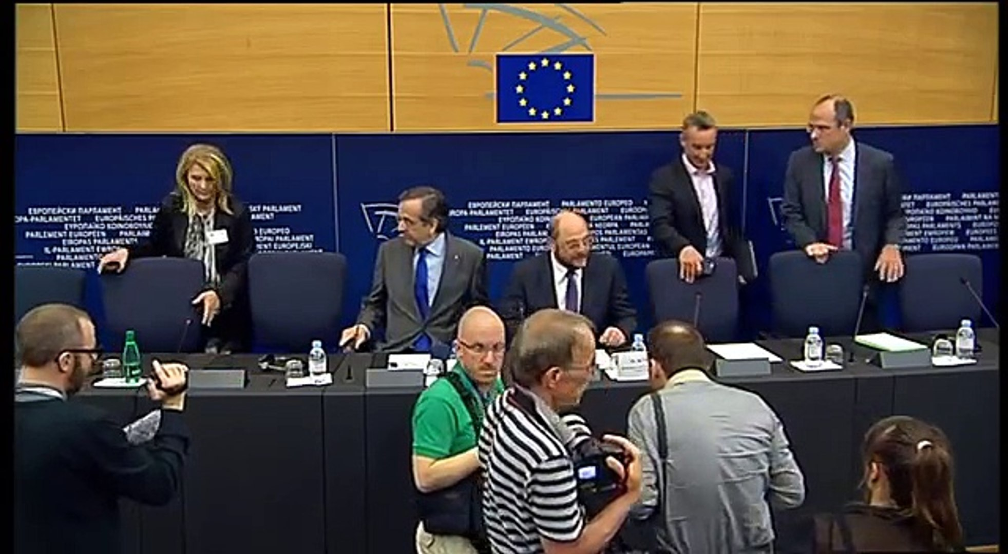 Review of the Greek Presidency: press conference by Martin Schulz and Greek PM Antonis Samaras