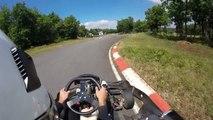 Karting Millau Parc des Bouscaillous 270 cm3 GoPro 2015