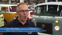 La última VW Combi llega al museo de VW en Hannover