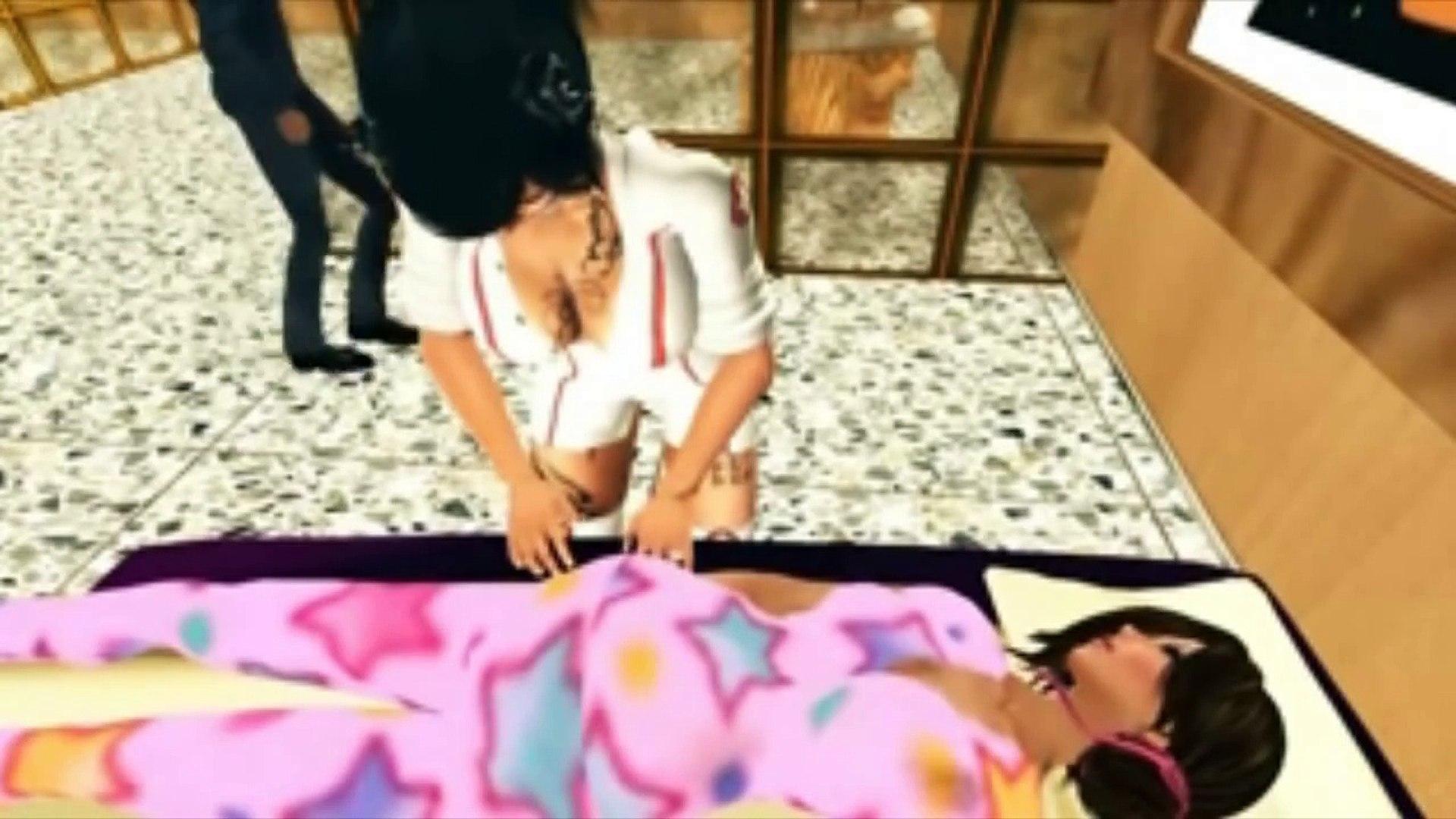Reaction Video - Nace la bebé de Elena y Dex en Second Life