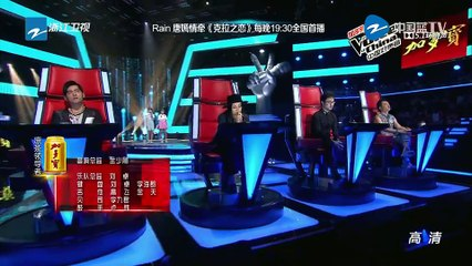中國好聲音 The Voice of China 20150807 S4  建築工人現場求婚 汪峰為搶人搬出章子怡 Part 1