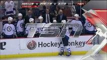NHL Winnipeg Jets Dustin Byfuglien Massive Hit on Ducks Beauchemin January 11 2015