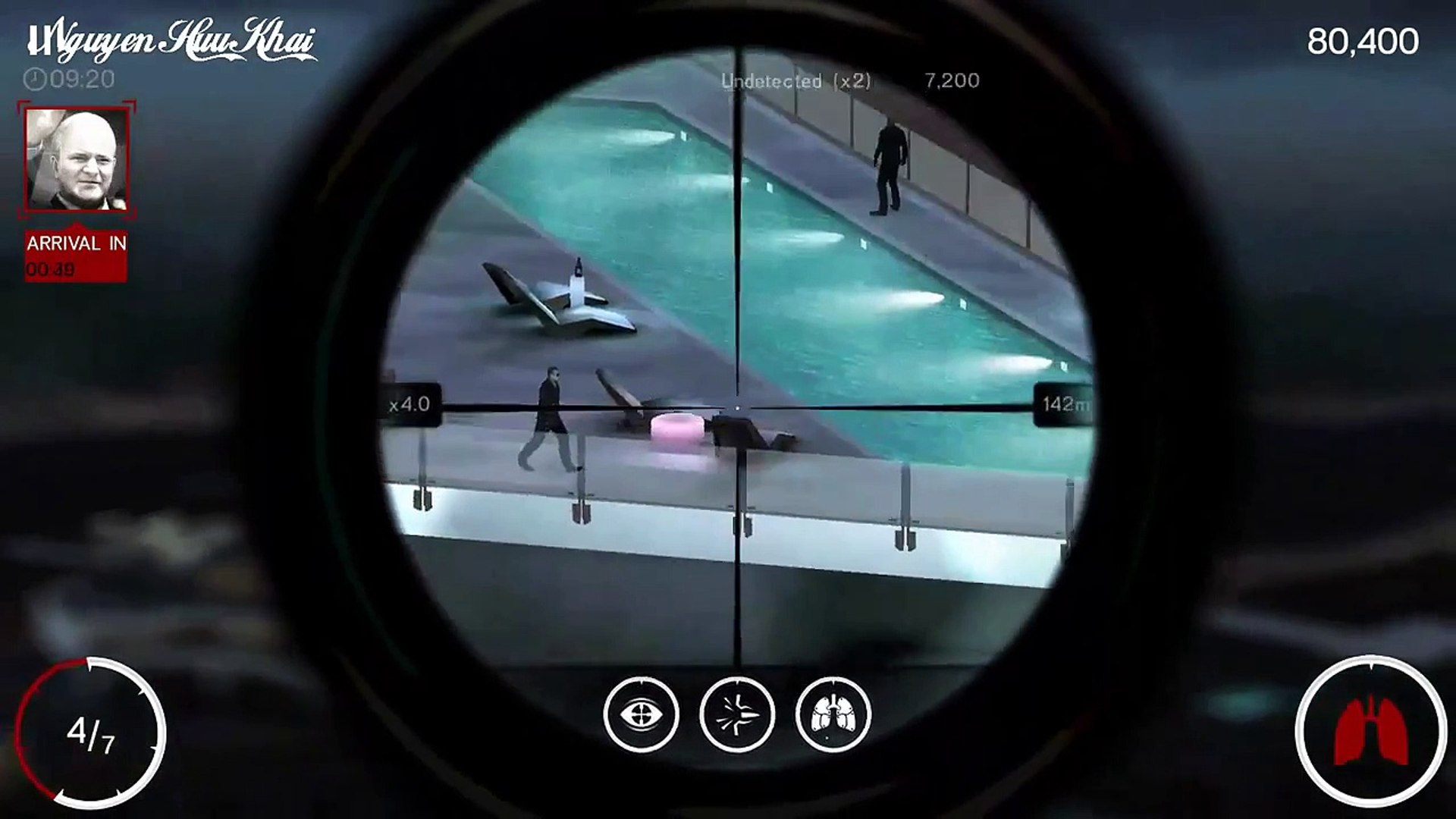 Hitman Sniper Chapter 1 Mission 7 - Shoot twice on a fuse box on
