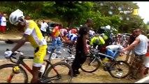 7e étape et chute tour cycliste de Guadeloupe