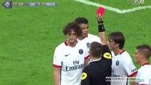 Adrien Rabiot Dismissal (Red Card) | Lille v. Paris Saint-Germain - Ligue 1 07.08.2015