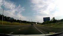 LiveLeak - Drunk Truck Thief Causes Havoc on His Way-copypasteads.com