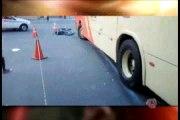 Em fuga da PM, motociclista bate em ônibus e morre em Juiz de Fora
