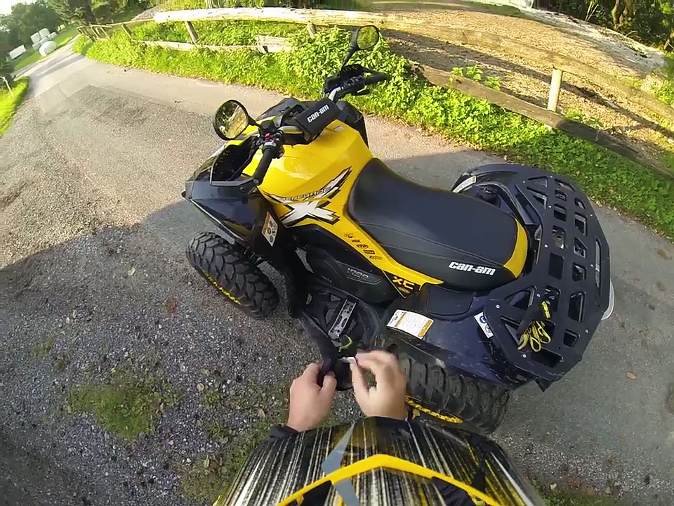 CAN-AM RENEGADE 1000 XXC in Action