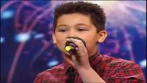 Shaheen Jafargholi singing , 12 , Britain's Got Talent 2009 Auditions