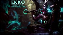 [WATCH] Ekko League of Legends Champion Spotlight (New Champion)