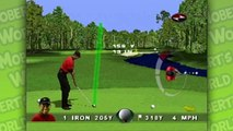 Tiger Woods 99 PGA Tour Golf PS1 (PSX) - TPC at Sawgrass, Hole 1-4 - Let's Play Tiger Woods Golf