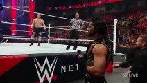 Seth Rollins vs Brock Lesnar - WWE World Heavyweight Championship Match- Raw