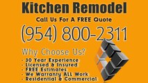 Registered Kitchen Contractor Pembroke Pines, Fl