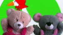 Goose Goose Gander Shorter Puppets | Puppet Show For Children | Teddy Bear Cartoon Rhymes