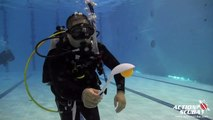 Scuba diving for kids - underwater spoon relay - Discover Scuba Diving