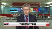 Four dead as Typhoon Soudelor batters Taiwan