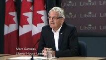 Marc Garneau, Liberal leadership to free trade with China - 081512