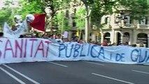 9 visions del 15 M des de Plaça Catalunya, Barcelona. 9 visiones del 15M desde Plaza Catalunya, BCN