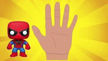 Top 5 SUPER HEROES Finger Family Song [Nursery Rhyme] Toy PARODY | Finger Family Fun
