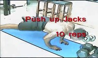 """LOWER BELLY FAT EXERCISES:10 Moves! """"ab exercises"""""""