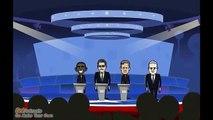 2012 US Presidential Debate: Gary Johnson, Barack Obama, and Mitt Romney