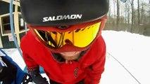 Skiing Helmet cam