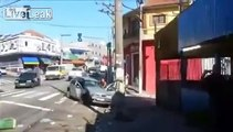 LiveLeak - Man reacts in a unique way after wrecking his Car-copypasteads.com