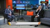 José Luis Espert con Luis Novaresio por Infobae TV, el 2 de Octubre de 1014