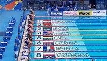 Mehdy Metella rate le podium mais bat de nouveau le record de France du 100 m papillon