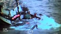 LiveLeak - Coast Guard rescues 4 Alaska fishermen from sinking vessel-copypasteads.com