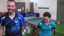 Table tennis backstage funny video in Dynami TT club