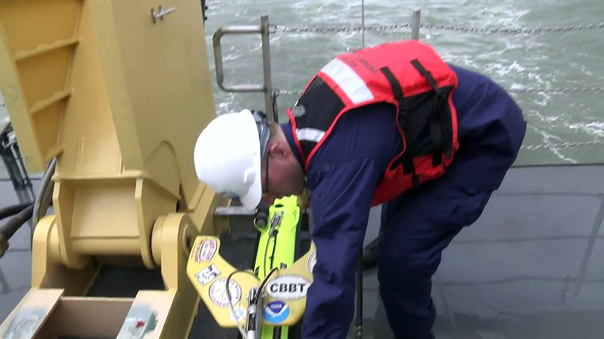 NOAA ship uses latest technology to map the ocean floor