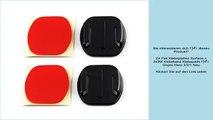 2X Flat Klebeplatten Surface + 2x3M Klebeband Klebepads für Gopro Hero 3/2/1 Neu
