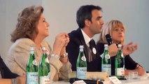 Intervista a Francesca Lavazza, dir. corporate image Lavazza e Marina Geri, Padiglione Italia