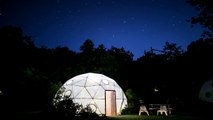 Domes on EXTANT - Culver Studios / Pacific Domes Time-lapse August 2014