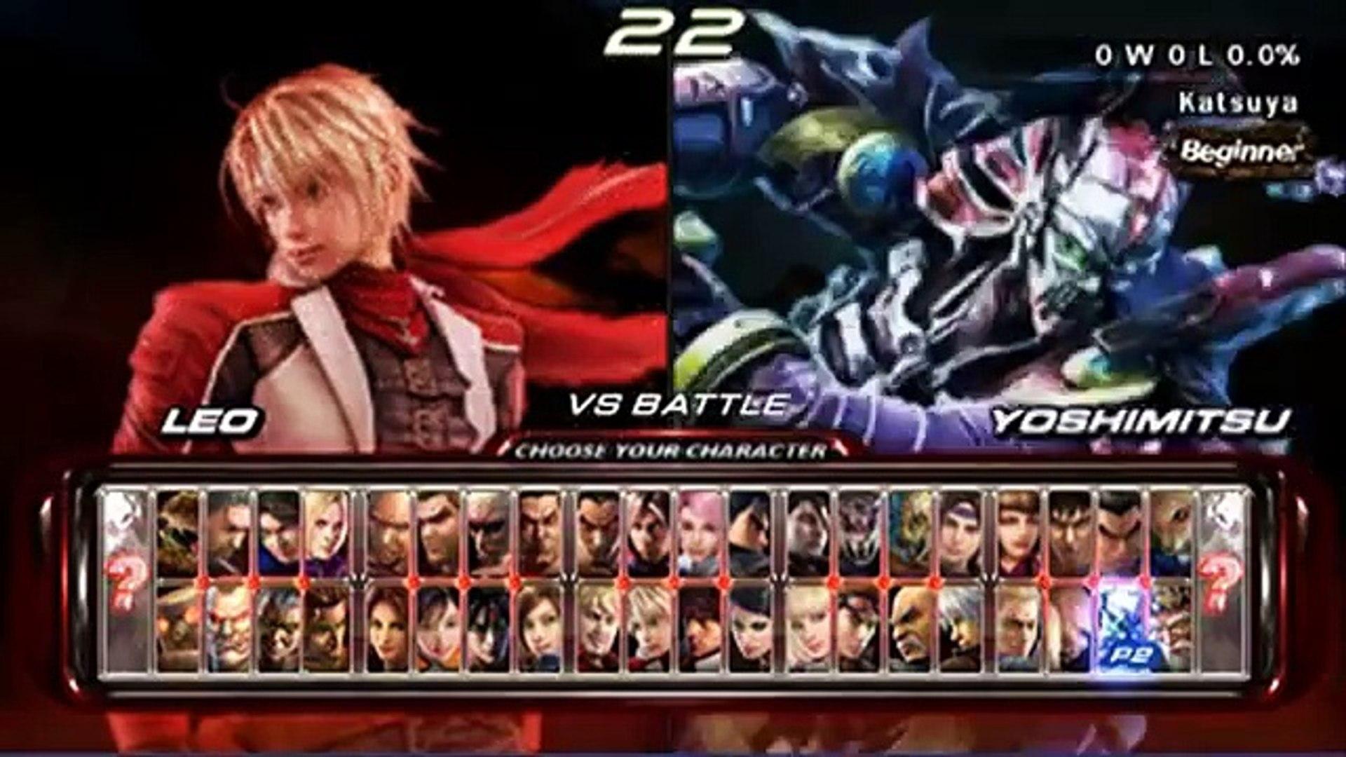 Tekken 6 Psp Matches Ryuichi Vs Katsuya C 2 2 Video Dailymotion