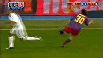 Ronaldo, Zidane & Beckham vs Ronaldinho, Messi & Eto'O 2005 El Clasico @ea.fifa15 #Like