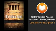 [Download PDF] The Hollow Hope Can Courts Bring About Social Change Second Edition
