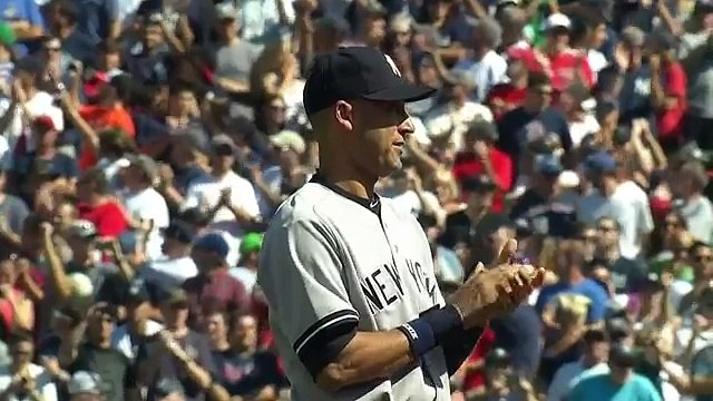 Red Sox Honor Derek Jeter with Ridiculous Pregame Ceremony