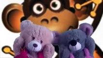 Pop Goes The Weasel Puppet Video | Puppet Show For Children | Teddy Bear Cartoon Rhymes