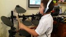Steve Hofmeyr Blou Balon - 8 year old Drummer