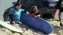 Kevin Michael Connolly, Legless Man, Surfs In 'Armed & Ready