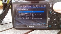 How to shoot HDR Timelapse with Magic Lantern - video