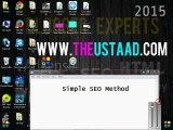 simple SEO Method for blogger blog or wordpress Urdu/hindi Video Tutorial 2015